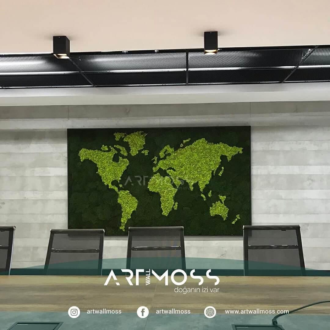 Yosun Dünya Haritası